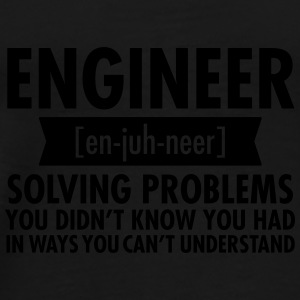 Engineer - Solving Problems Mugs & Drinkware - Men's Premium T-Shirt