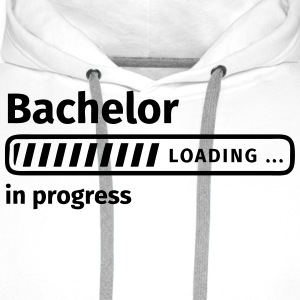 Bachelor in Progress Tee shirts - Sweat-shirt à capuche Premium pour hommes