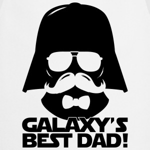 Funny Best Dad of the Galaxy statement T-Shirts - Cooking Apron