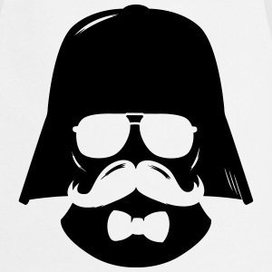 Comic hipster boss moustache father T-Shirts - Cooking Apron