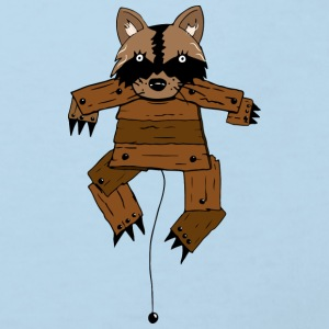Wooden Coon - Kinder Bio-T-Shirt