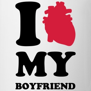 I heart my boyfriend T-shirts - Mok