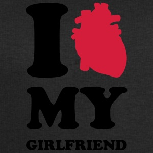 I heart my girlfriend T-shirts - Herresweatshirt fra Stanley og Stella