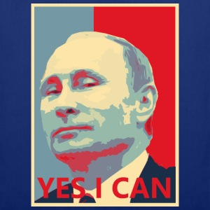 Putin YES I CAN T-Shirts - Stoffbeutel