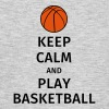 keep calm and play basketball Magliette - Maglietta da uomo