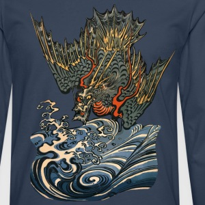 Ocean Dragon T-Shirts - Men's Premium Longsleeve Shirt