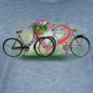 Bicycles love Sweat-shirts - T-shirt vintage Homme