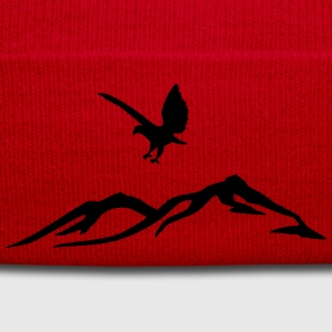 Eagle over the mountains - Winter Hat
