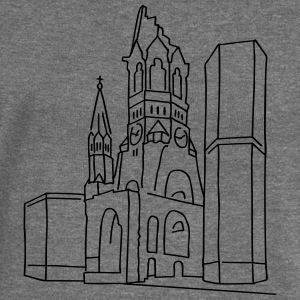 Kaiser Wilhelm Memorial Church Berlin Bags & Backpacks - Women's Boat Neck Long Sleeve Top