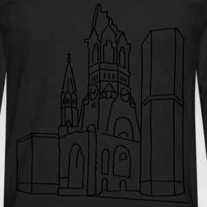 Kaiser Wilhelm Memorial Church Berlin T-Shirts - Men's Premium Longsleeve Shirt