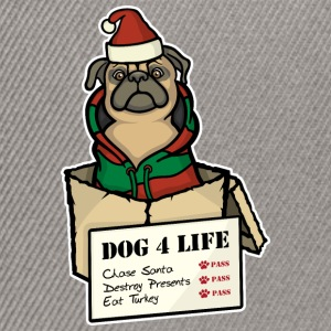 Dog 4 Life - Christmas T-Shirts - Snapback Cap