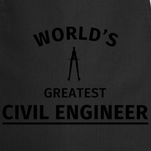 World's greatest civil engineer T-Shirts - Cooking Apron