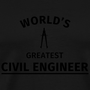 World's greatest civil engineer Tassen & Zubehör - Männer Premium T-Shirt