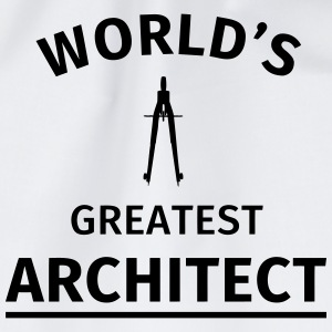 World's Greatest Architechitect T-Shirts - Drawstring Bag