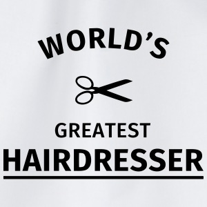 World's Greatest Hairdresser Mokken & toebehoor - Gymtas