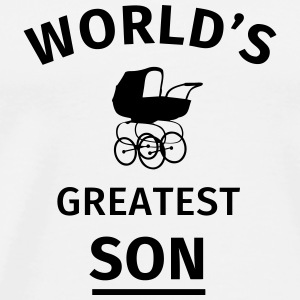 World's Greatest Son Mokken & toebehoor - Mannen Premium T-shirt