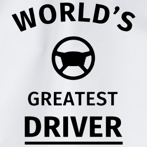 World's Greatest Driver T-Shirts - Drawstring Bag
