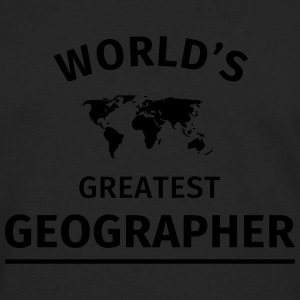 World's Greatest Geographer Mugs & Drinkware - Men's Premium Longsleeve Shirt