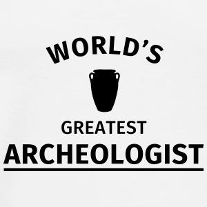 World's Greatest Archeologist Mokken & toebehoor - Mannen Premium T-shirt