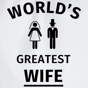 World's Greatest Wife T-Shirts - Turnbeutel