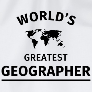World's Greatest Geographer Mokken & toebehoor - Gymtas