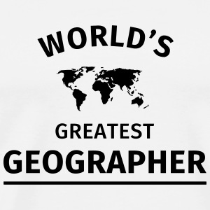 World's Greatest Geographer Mugs & Drinkware - Men's Premium T-Shirt