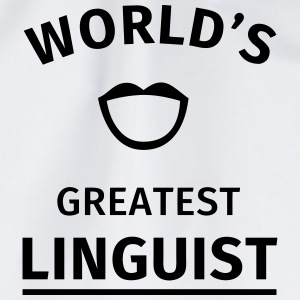 World's Greatest Linguist T-shirts - Gymtas