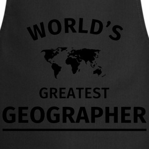 World's Greatest Geographer T-Shirts - Cooking Apron