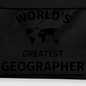 World's Greatest Geographer T-Shirts - Kinder Rucksack
