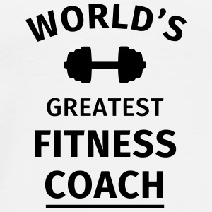 World's Greatest Fitness Coach Mokken & toebehoor - Mannen Premium T-shirt
