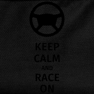 keep calm and race on Bouteilles et Tasses - Sac à dos Enfant
