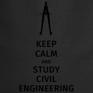 keep calm and study civil engineering T-Shirts - Cooking Apron