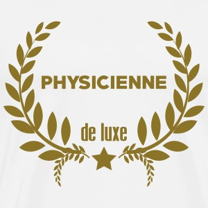 Physicien / Physique / Science / Ecole Physicienne Tabliers - T-shirt Premium Homme