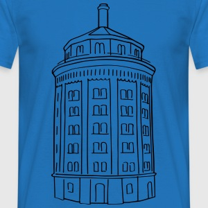 Water tower at Kollwitzplatz  Hoodies & Sweatshirts - Men's T-Shirt