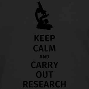 keep calm and carry out research T-Shirts - Men's Premium Longsleeve Shirt