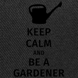 keep calm and be a gardener T-Shirts - Snapback Cap