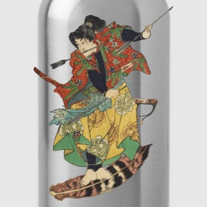 Flying Samurai T-Shirts - Trinkflasche