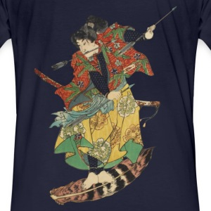 Flying Samurai Sweat-shirts - T-shirt bio Homme