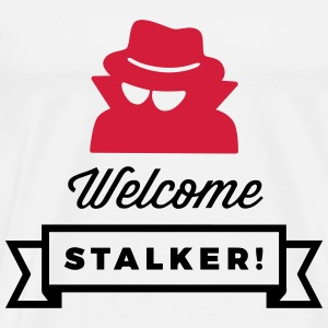 Welcome, you stalker! Sports wear - Men's Premium T-Shirt
