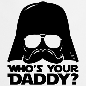 Who's your geek daddy humour citation  Bodys Bébés - Tablier de cuisine