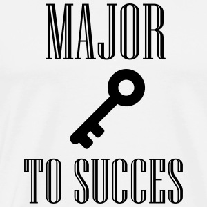 Major key to succes Pullover & Hoodies - Männer Premium T-Shirt