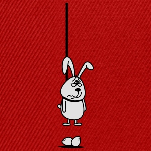 Hanging Easter Bunny 2c. T-Shirts - Snapback Cap