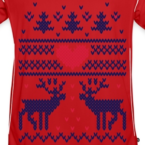 Winter Knit Vector Hjerte Gensere - Fotballdrakt for menn