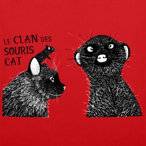 Le clan des souris cat Tee shirts - Tote Bag