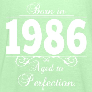 Born in 1986 birthday T-Shirts - Frauen Tank Top von Bella