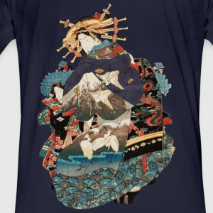 Geisha 1 Hoodies & Sweatshirts - Men's Organic T-shirt