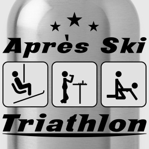 Apres Ski Triathlon T-Shirts - Water Bottle