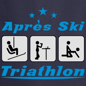 Apres Ski Triathlon c3 T-Shirts - Cooking Apron