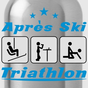 Apres Ski Triathlon c3 T-Shirts - Water Bottle