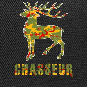 chasse camo Tee shirts - Casquette snapback